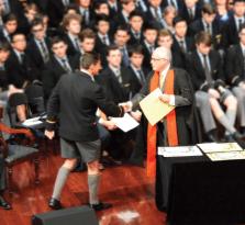 Sydney Grammar Graduation